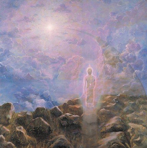 quadros-modernos - Quadro -The Path (acrylic on canvas)- - Cook, Simon
