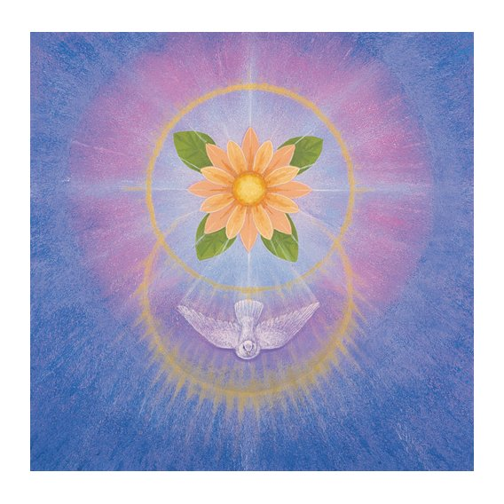 Quadro -Flower (acrylic on canvas)-