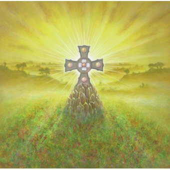 - Quadro -Celtic Cross (acrylic on canvas)- - Cook, Simon