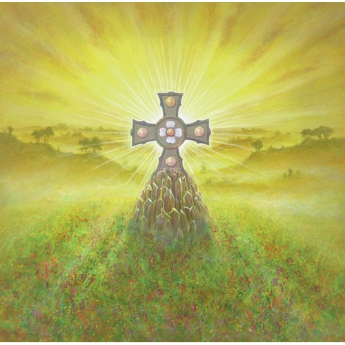 Quadro -Celtic Cross (acrylic on canvas)-