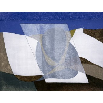Quadros abstratos - Quadro -Falcon Cliff, 2001 (oil on board)- - Dannatt, George