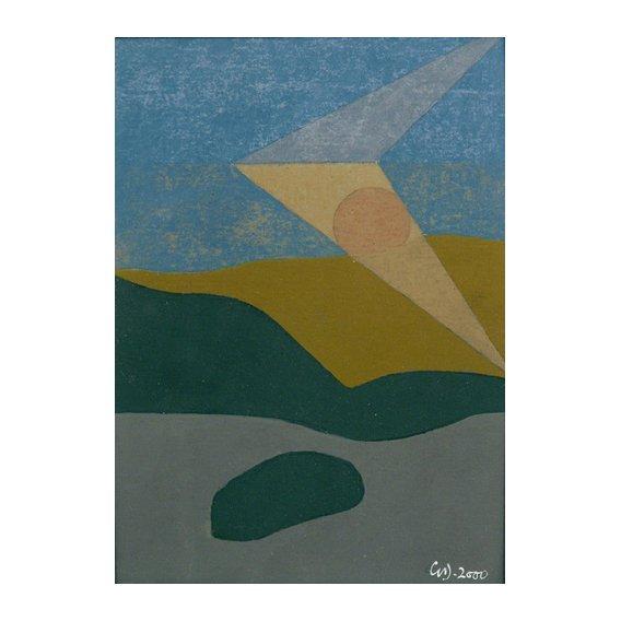 Quadro -Untitled, 2000 (oil on card)-