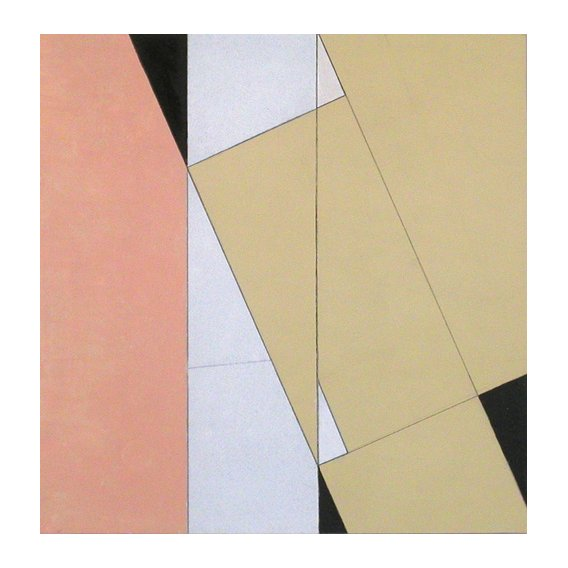 Quadro -Spatial Relationship, No 2, 2003 (oil on paper and board)-