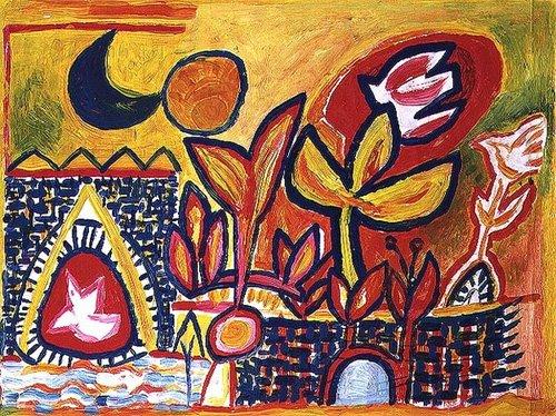 quadros-modernos - Quadro -Song to the Sun and Moon- - Davidson, Peter