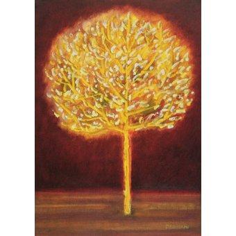 Quadros para sala - Quadro -Blossoming Tree- - Davidson, Peter