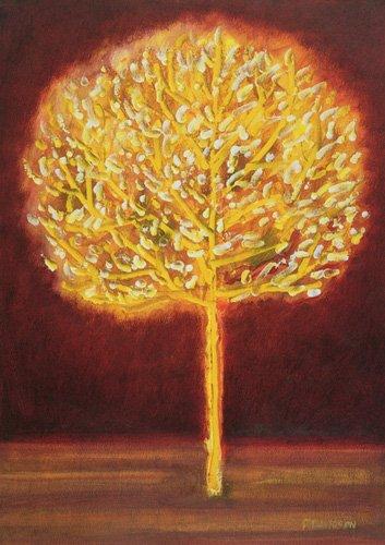 quadros-modernos - Quadro -Blossoming Tree- - Davidson, Peter