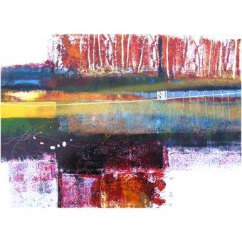 Quadros abstratos - Quadro -Treeline, 2010- - Decent, Martin