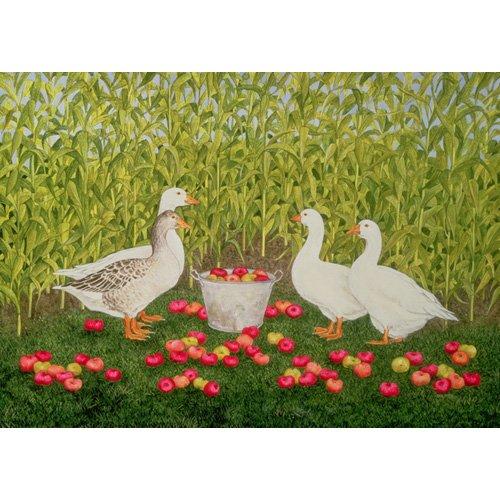 Quadro -Sweetcorn-Geese-