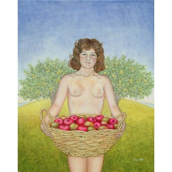 - Quadro -An Apple a Day, Triptych Part Two- - Ditz