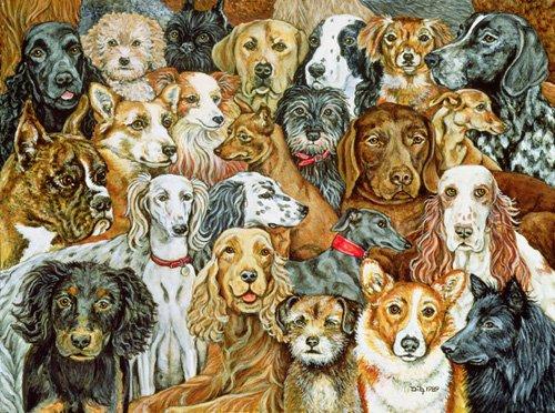 quadros-modernos - Quadro -Dog Spread, 1989- - Ditz