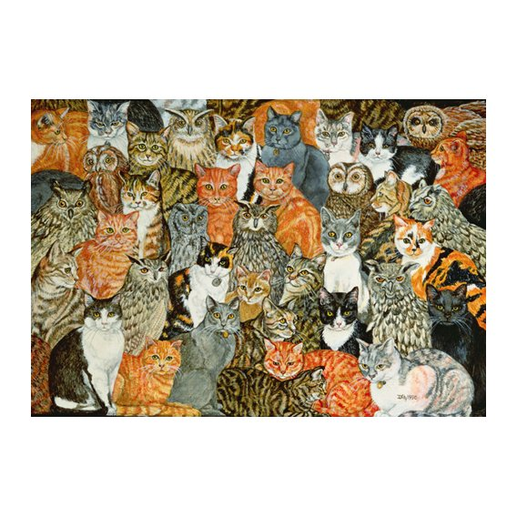Quadro -The Owls and the Pussycats-