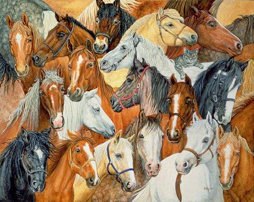 quadros-modernos - Quadro -Dee's Horse-Blanket- - Ditz