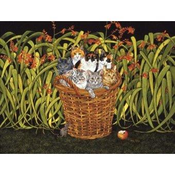quadros de animais - Quadro -The Montbretia-Mouse- - Ditz