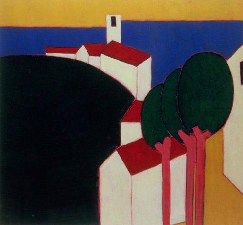 quadros-modernos - Quadro -In the Luberon, 2000- - Donne, Eithne