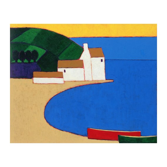 Quadro -Bay in Southern Brittany-