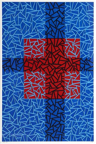 quadros-abstratos - Quadro -Infinity Pool- - Dunn, Alex