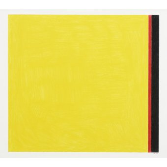 Quadros abstratos - Quadro -Go to Yellow- - Dunn, Alex
