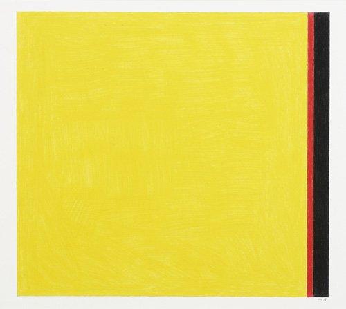 quadros-abstratos - Quadro -Go to Yellow- - Dunn, Alex