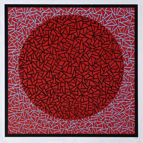 quadros-abstratos - Quadro -God's Navel- - Dunn, Alex