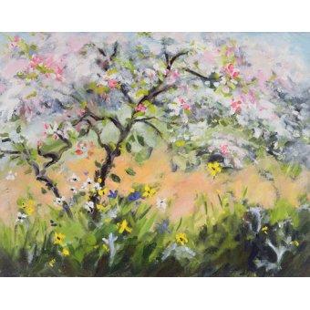 - Quadro -Spring Blossom- - Durham, Anne