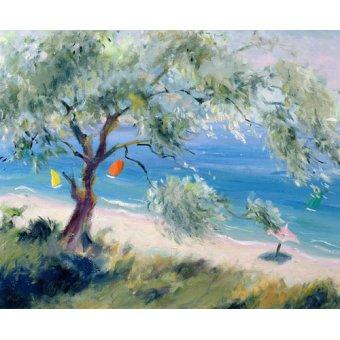 - Quadro -Looking on to a beach- - Durham, Anne