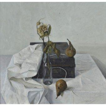 naturezas mortas - Quadro -The Box and Rotten Pears, 1990- - Easton, Arthur