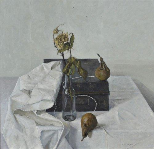 naturezas-mortas - Quadro -The Box and Rotten Pears, 1990- - Easton, Arthur