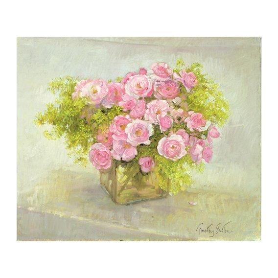 Quadro -Alchemilla and Roses, 1999-