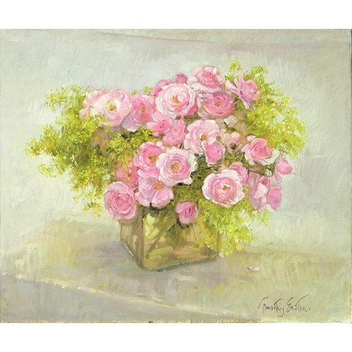 Quadro -Alchemilla and Roses, 1999-