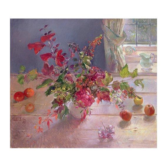 Quadro -Honeysuckle and Berries, 1993-