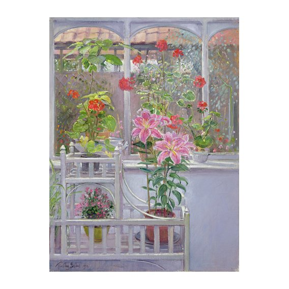 Quadro -Through the Conservatory Window, 1992 -