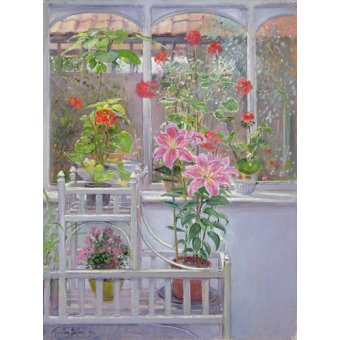 - Quadro -Through the Conservatory Window, 1992 - - Easton, Timothy