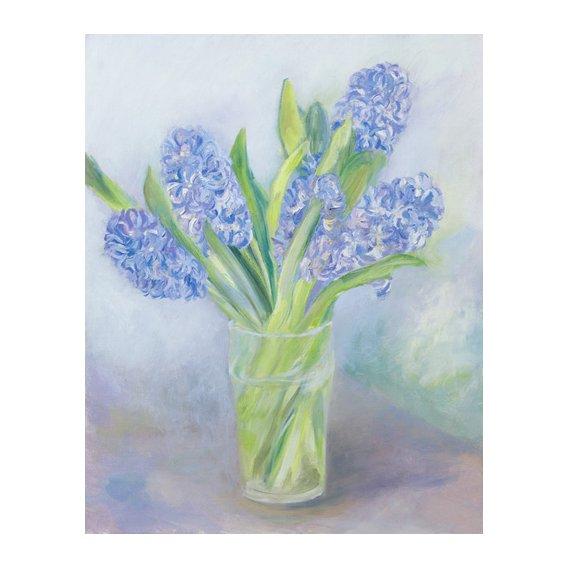 Quadro -Hyacinths-