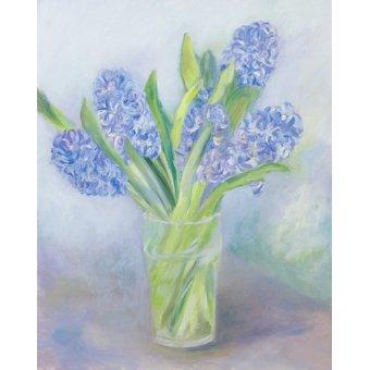 quadros de paisagens marinhas - Quadro -Hyacinths- - Elliot, Sophia