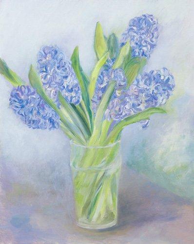 quadros-de-paisagens-marinhas - Quadro -Hyacinths- - Elliot, Sophia