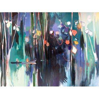 Quadros abstratos - Quadro -reflect- - Evans, Charlotte