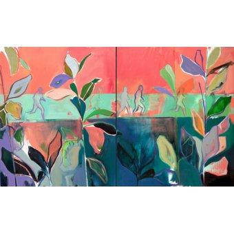 quadros de paisagens - Quadro -in stride- - Evans, Charlotte