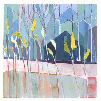 Quadros abstratos - Quadro -flags- - Evans, Charlotte