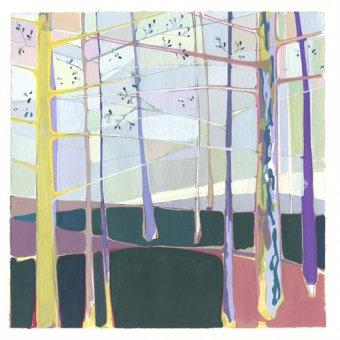 Quadros abstratos - Quadro -quilt- - Evans, Charlotte