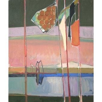 Quadros abstratos - Quadro -flagged- - Evans, Charlotte