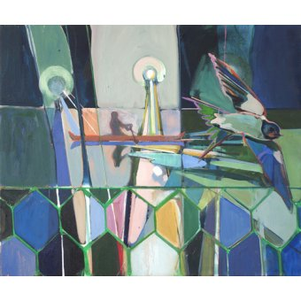 Quadros abstratos - Quadro -winged- - Evans, Charlotte