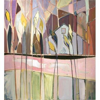 Quadros abstratos - Quadro -flags (II)- - Evans, Charlotte