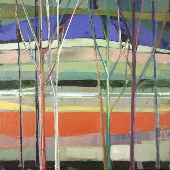 Quadros abstratos - Quadro -horizons- - Evans, Charlotte