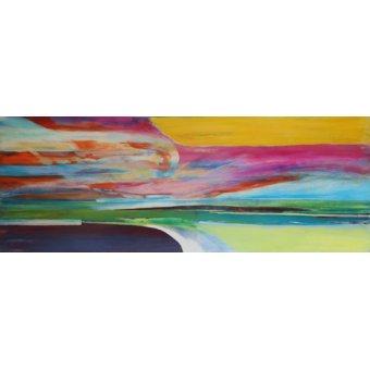 Quadros abstratos - Quadro -Ipso Facto- - Gibbs, Lou