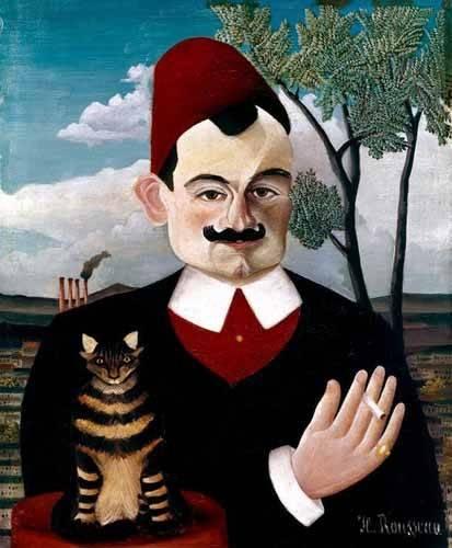 cuadros de retrato - Cuadro -Retrato de Pére Loit- - Rousseau, Henri