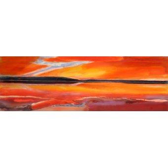 Quadros abstratos - Quadro -Phoenix Rising, 2014- - Gibbs, Lou
