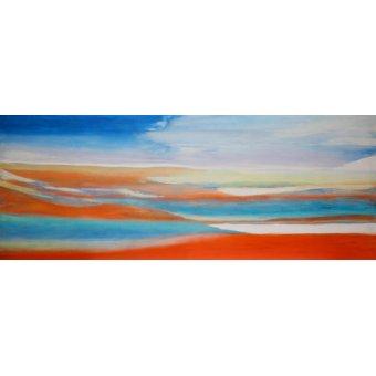 Quadros abstratos - Quadro -Miracle Water,2004- - Gibbs, Lou