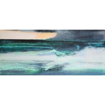 Quadros abstratos - Quadro -Seascape- - Gibbs, Lou