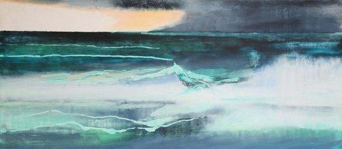 quadros-abstratos - Quadro -Seascape- - Gibbs, Lou