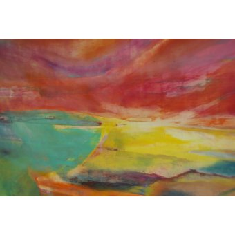 Quadros abstratos - Quadro --Between Land and Sea, Landscape, 2016- - Gibbs, Lou